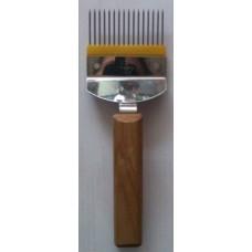 Вилка для распечатки сот (игла прямая нержавейка)