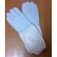 Перчатки кожаные для пчеловодов