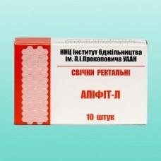 """Свечи """"Апифит Л"""" с прополисом и экстрактом личинок восковой моли (10 шт)"""